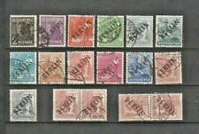 LOT GERMANY 1948 BERLIN IN BLACK 17 X USED - CAT. VALUE $ 140.00  START : $ 1.00