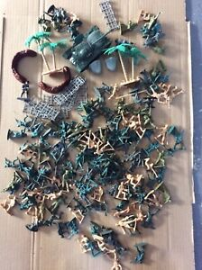Job Lot Of Toy Plastic Soldiers & Other Items