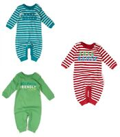 Little Green Radicals Organic Babygrow all in one Playsuit Asst Designs  LGR