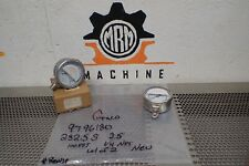 """GRACO 9796180 Gauges 10-100 bar 50-700kPA 1/4"""" NPT New Old Stock (Lot of 2)"""