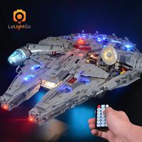 Remote Control Led light kit for LEGO Millennium Falcon 75192 LEGO STAR WARS