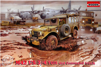 Roden 809 - Dodge M42 3/4 Ton 4x4 US Military Truck 1/35 scale model kit 216 mm