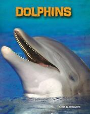 Dolphins (Living in the Wild: Sea Mammals)-ExLibrary