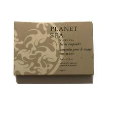Avon Planet Spa White Tea Facial Ampoules Moisturizing Treatment Fine Lines