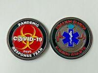 2020  Pandemic Response Team Challenge Coin COV!D Corona19