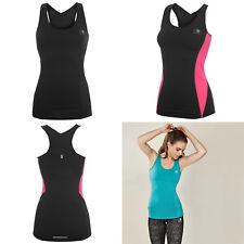 Karrimor Long Bra Vest NEW Size 8 10 12 14 16 18 Black Pink Sports Womens