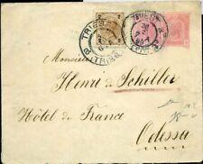 433885) Österreich 5 Kr GSU Kaiser Franz Joseph + ZF 1899 v. Triest n. Odessa