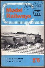 Model Railways Ian Allan abc book by Kichenside & Williams 3rd ed 1962 MMR/1181