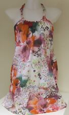 GUESS Women's Floral Long Top Swim Dress Cover up BNWT Small (IT 42) FD2F38