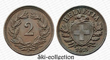2 Rappen 1915 B.Schweiz / Schweiz. Bronze. Großartig
