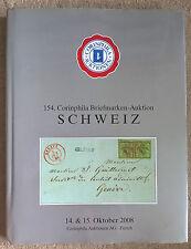 Auction Catalogue Corinphila CLASSIC SWITZERLAND ALTSCHWEIZ Free UK Postage