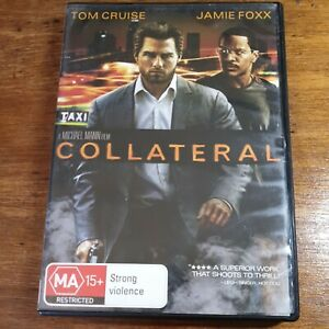 Collateral DVD R4 LIKE NEW FREE POST
