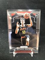 2019-20 PANINI PRIZM BASE ROOKIE CARD #251 DE'ANDRE HUNTER ATLANTA HAWKS AC53