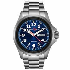 Armourlite AL813 Officer Series Stainless Steel Blue Dial Watch