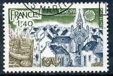 STAMP / TIMBRE FRANCE OBLITERE N° 1929  PORT BRETON