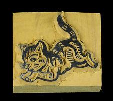 Gato -buffer Tinta Madera Scrapbooking Fabricación Artisanale - 4037-11