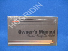 1991 Harley Davidson sportster touring softail dyna fatboy ultra  owners manual