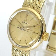 Omega Ladymatic Damen Uhr Vintage Handaufzug  585er/14 Karat Gelbgold