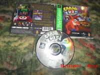 Crash Bandicoot 2: Cortex Strikes Back (Sony PlayStation 1, 2000)