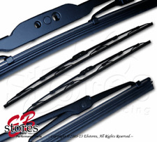 """Set of 2 OEM Replacement Bayonet Arm Wiper Blades 16"""" Driver, 16"""" Passenger Side"""