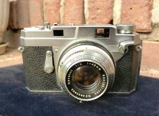 Konica III Seikosha-MXL Hexanon 48mm f/2 Konishiroku Film Camera WORKS GREAT!!!