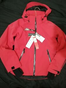 KAPPA CENTO WINTER JACKET ADULT SMALL RED SKI JACKET BRAND NEW WITH TAGS