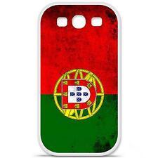 Coque housse étui tpu gel motif drapeau Portugal Samsung Galaxy S3 i9300