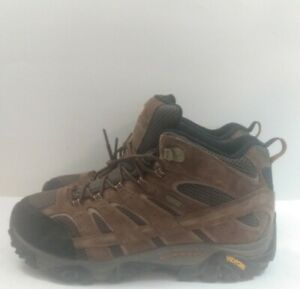 Merrell Men's Moab 2 Mid Waterproof Hiking Boot, Earth, Size 13W