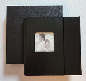 WEDDING DVD CASE - Album Portfolio Photo Holder Black Anniversary Souvenir Gift