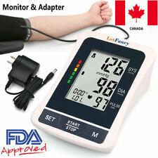 Automatic Arm Blood Pressure Monitor BP & Adapter Gauge Machine Tester Meter CA