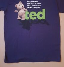 Ted 2 Film Tshirt Official Slogan T Shirt Comedy Mark Whalberg Large