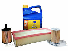 VW TIGUAN 2.0 TDI 07-13 OIL AIR FILTER 5L LONG LIFE SYNTHETIC OIL SERVICE KIT