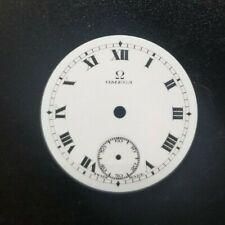 Omega porcelain watch dial 3-0s, 26.52mm (342-344)
