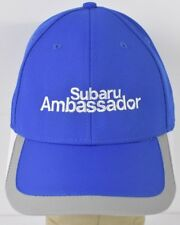 Blue Subaru Ambassador Vehicles Embroidered Baseball Hat Cap Adjustable