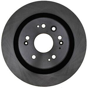 Disc Brake Rotor-Non-Coated Rear ACDelco Advantage 18A2819A
