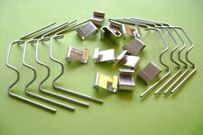More details for greenhouse glazing  w & z glass clips 5 - 100 spring wire spares you choose