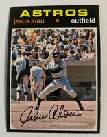 1971 Jesus Alou # 337 Houston Astros Topps Baseball Card