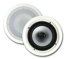 "2) NEW VM AUDIO VMIS8 8"" 350 Watt 2 Way In Ceiling/Wall Surround Home Speakers"