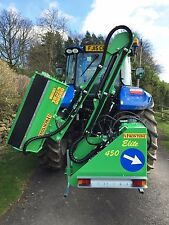 Hedge Cutter - reach / flail mower for tractors 40 hp to 110 hp by Frontoni
