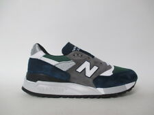 New Balance 998 Made in USA Grey Navy Green White Black Sz 9.5 M998NL