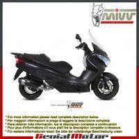 Scarico Completo Omologato MIVV Urban inox per Suzuki Burgman 200 2007 > 2013