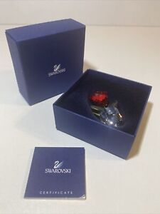 Swarovski Crystal Red In the box with COA sweet 💕💕🌟🌟
