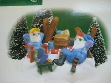 Dept. 56 North Pole Series Ski Bums Ret 2001 #56710 New in Box