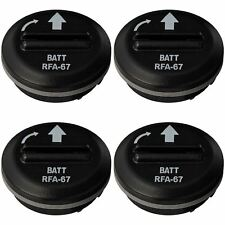 4 x PetSafe RFA-67D Lithium Battery Module for Bark Control, Radio Fence Collars