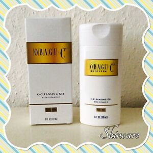 Obagi C Cleansing Gel with Vitamin C 6oz / 177ml New in Box