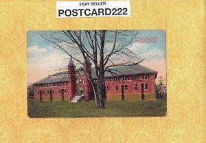CT Middletown 1908-29 postcard WESLEYAN University Swimming Pool & Gym Conn