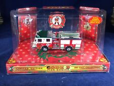 M-54 CODE 3 1:64 SCALE DIE CAST FIRE ENGINE - 1999 CHRISTMAS EDITION #2 PUMPER