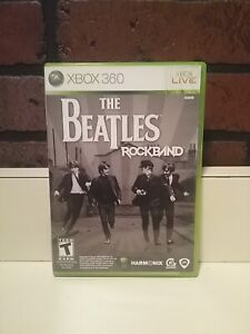 Xbox 360 The Beatles Rock Band Game Only
