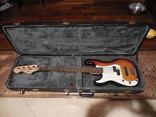 Fender Squier Precision Bass Special Lefty Left Hand Sunburst LH Includes Case!