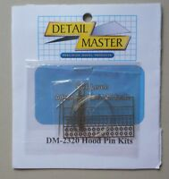 Hood Pin Kits 1:24 1:25 DETAIL MASTER CAR MODEL ACCESSORY 2320